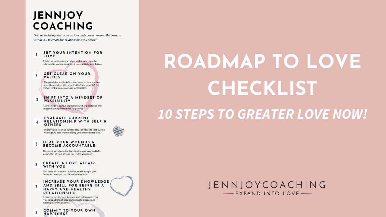 Roadmap to Love Checklist