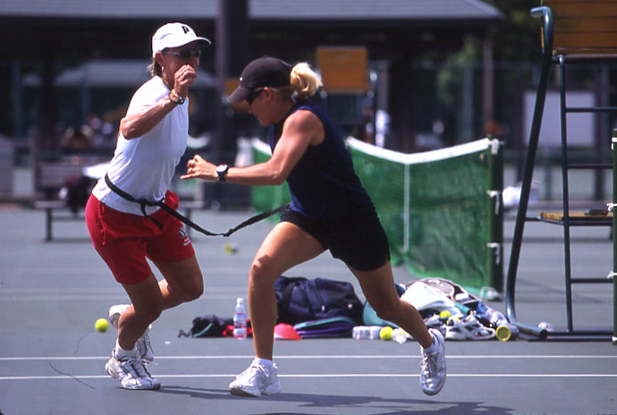 IMAGE OF TENNIS FITNESS AND NAVRATILOVA