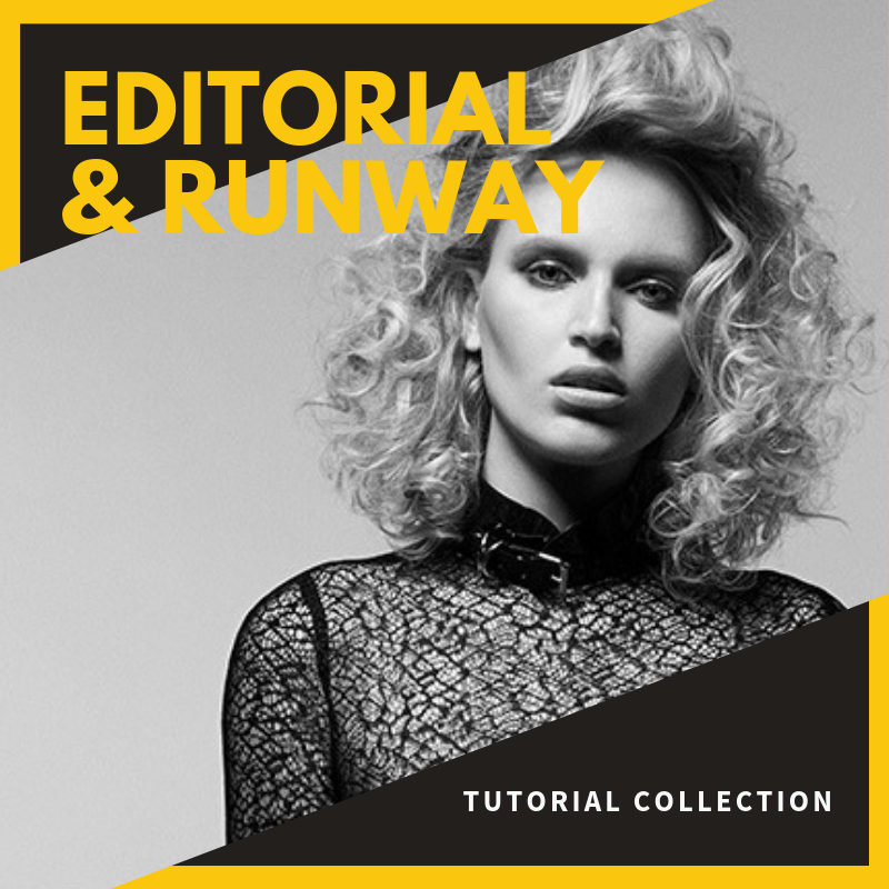 vivienne mackinder's edgy hair tutorial collection