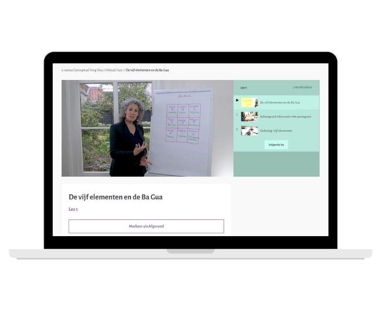 e-cursus Conceptual Feng Shui, Feng Shui Academie, Nina Elshof