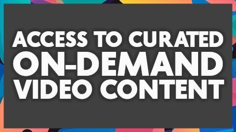 Curated On Demand Content