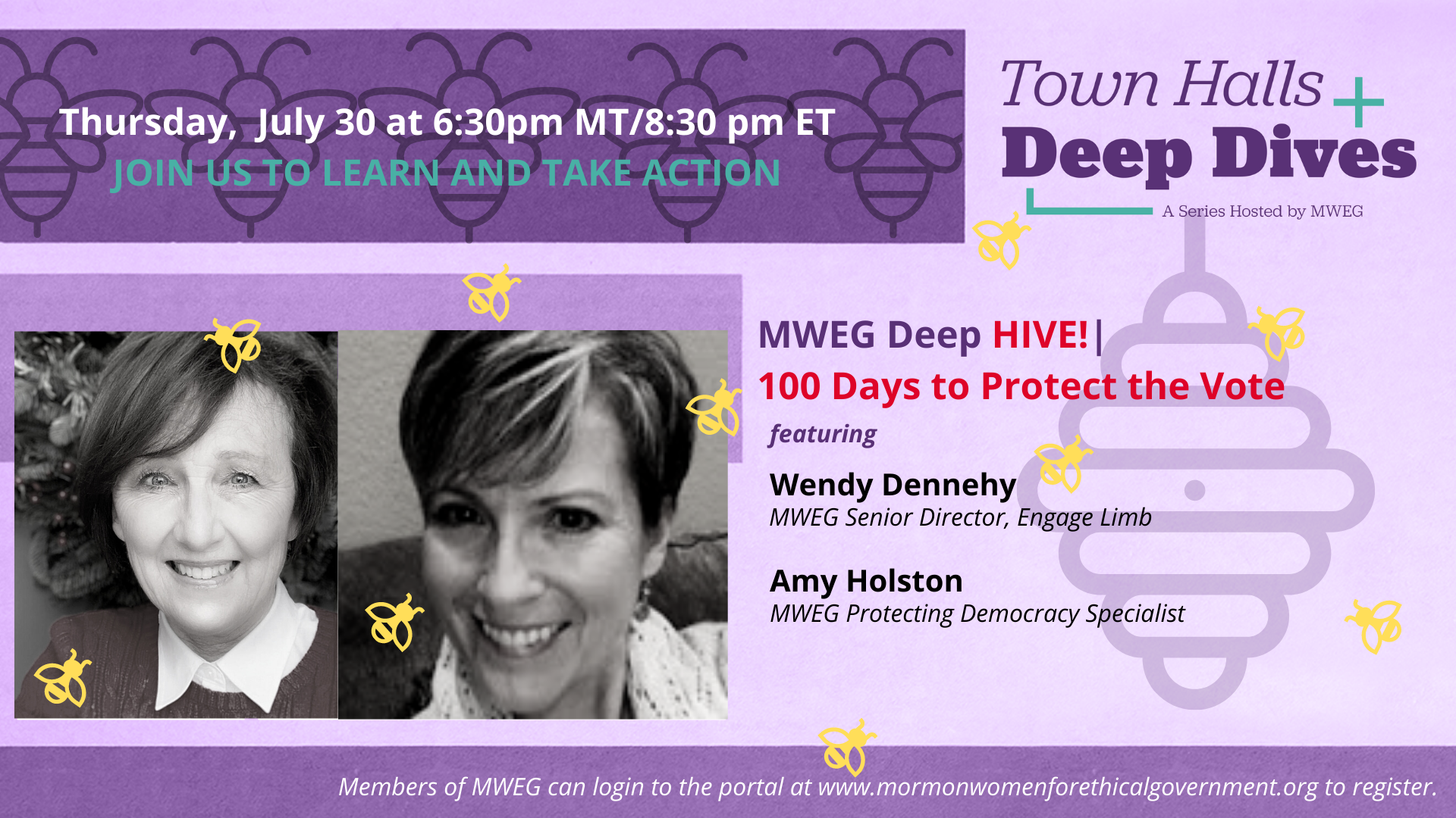 Protect the Vote Deep Hive announcement