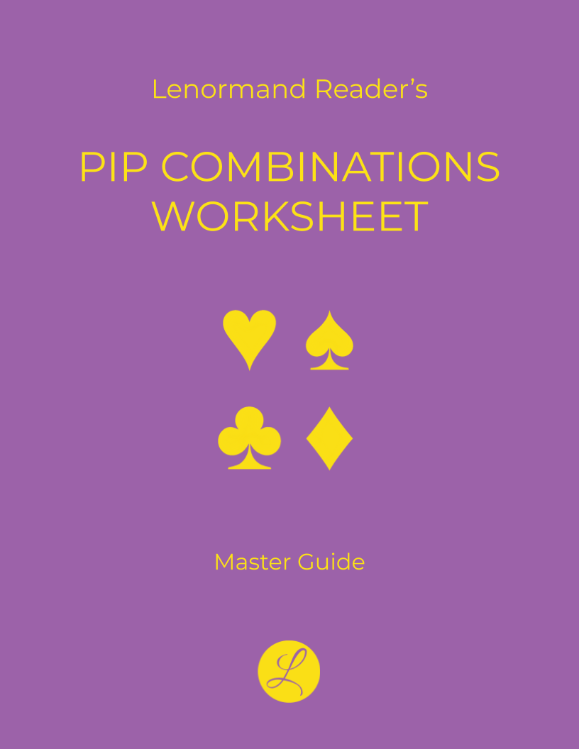 Pip Combinations Worksheet