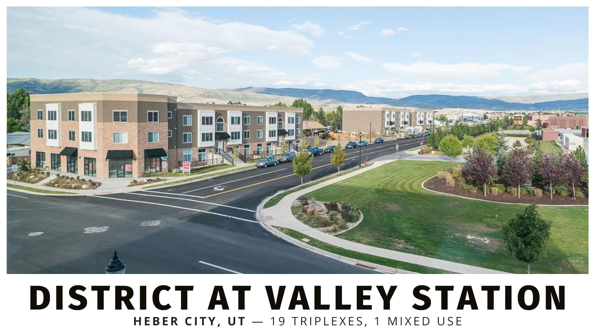 District at Valley Station multifamily in Heber, Utah