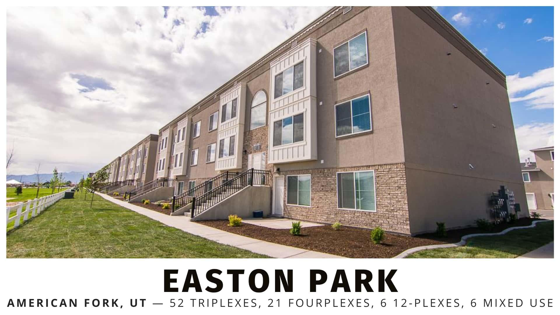 Easton Park multifamily in American Fork, Utah