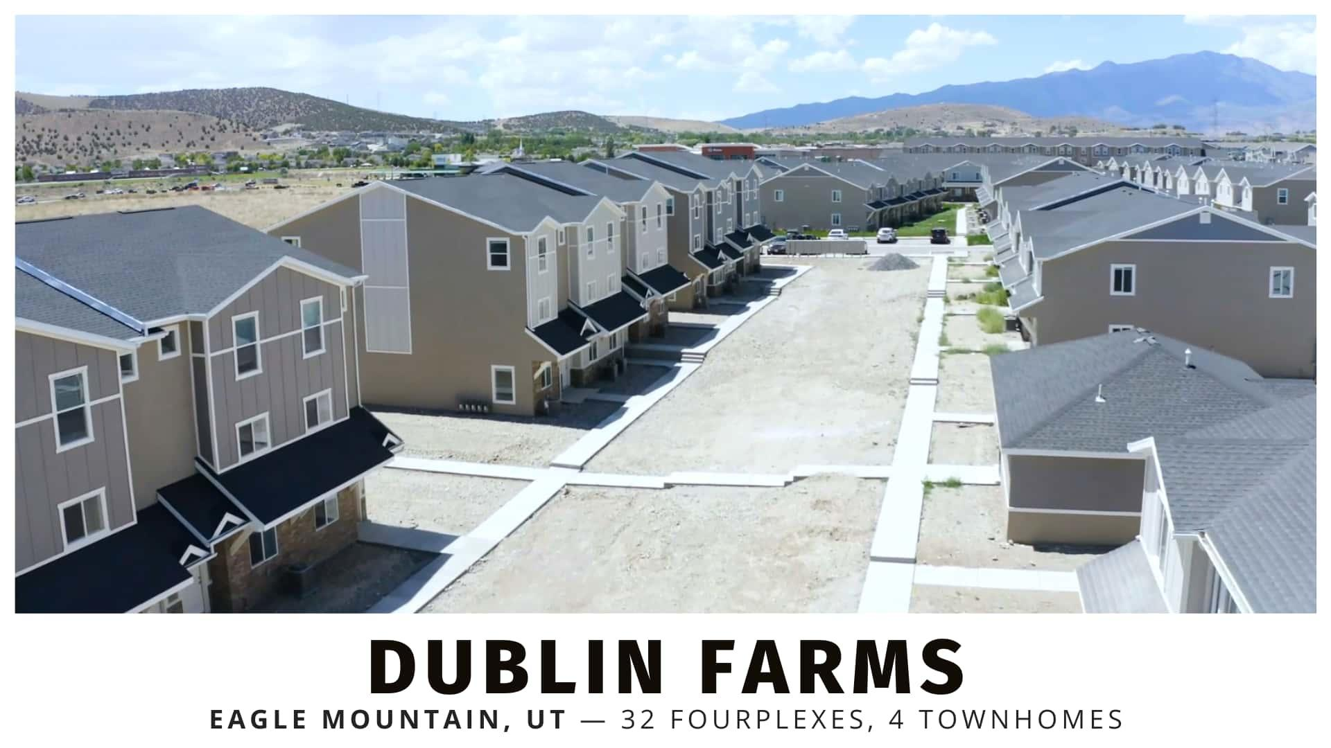 Dublin Farms Fourplexes for sale in Eagle Mountain, Utah