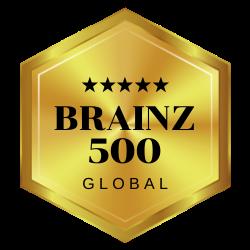 Brainz 500 Global Logo
