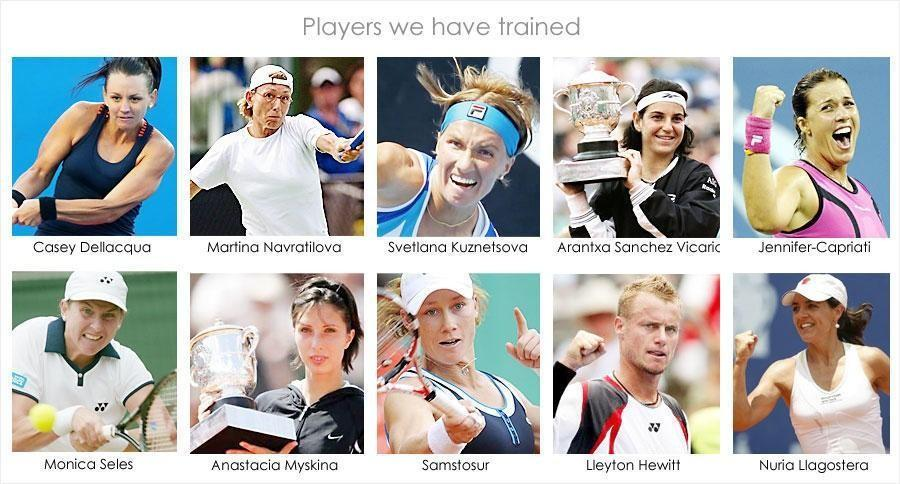 IMAGE OF TENNIS PLAYERS