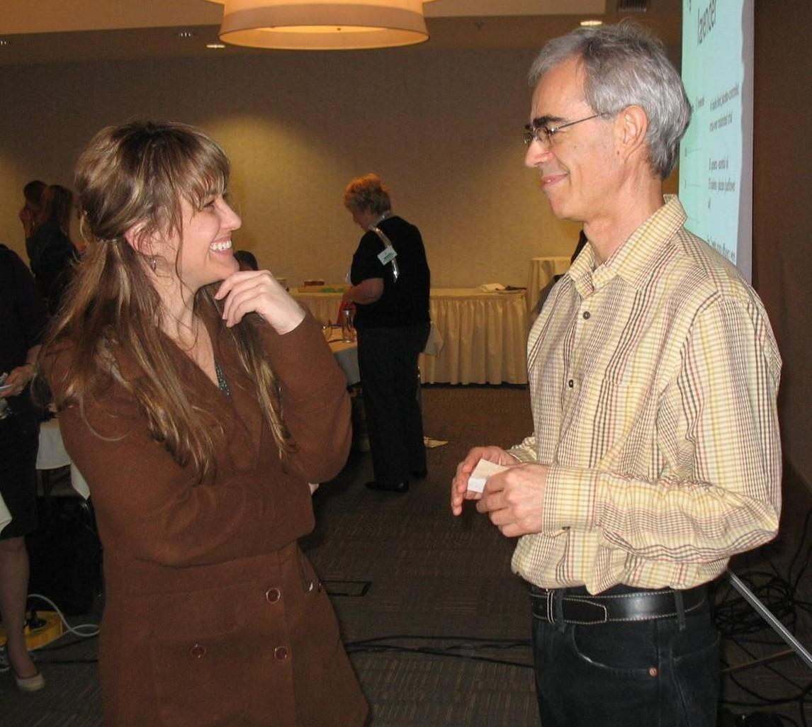 Dr. Kelly Ablard and Robert Tisserand