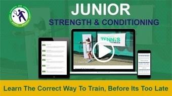 strength training for junior tennis players