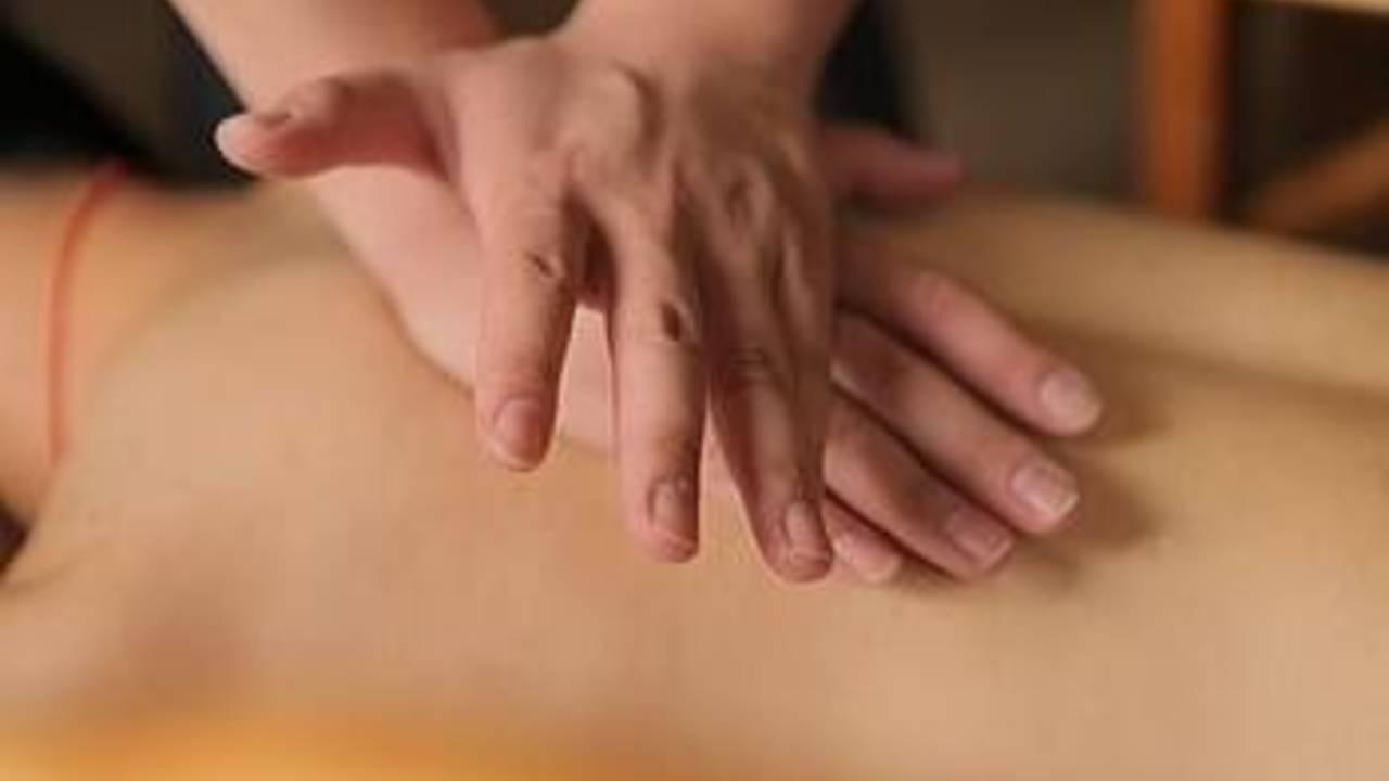 tennis sports massage