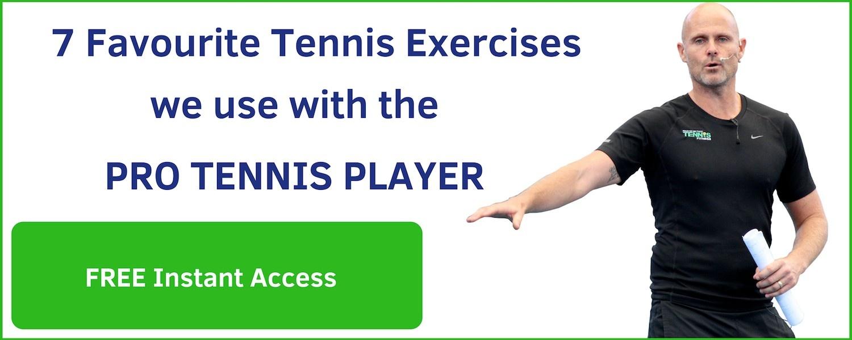 favourrite tennis exercises