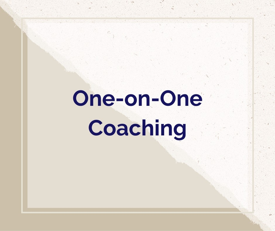 Kristen Fragnoli, One-on-One Coaching