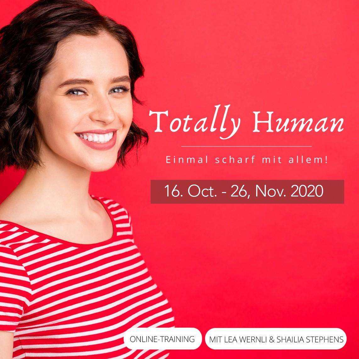 Totally Human – 3 Day Online Retreat