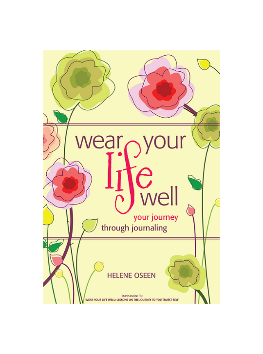 Wear Your Life Well Journal Cover