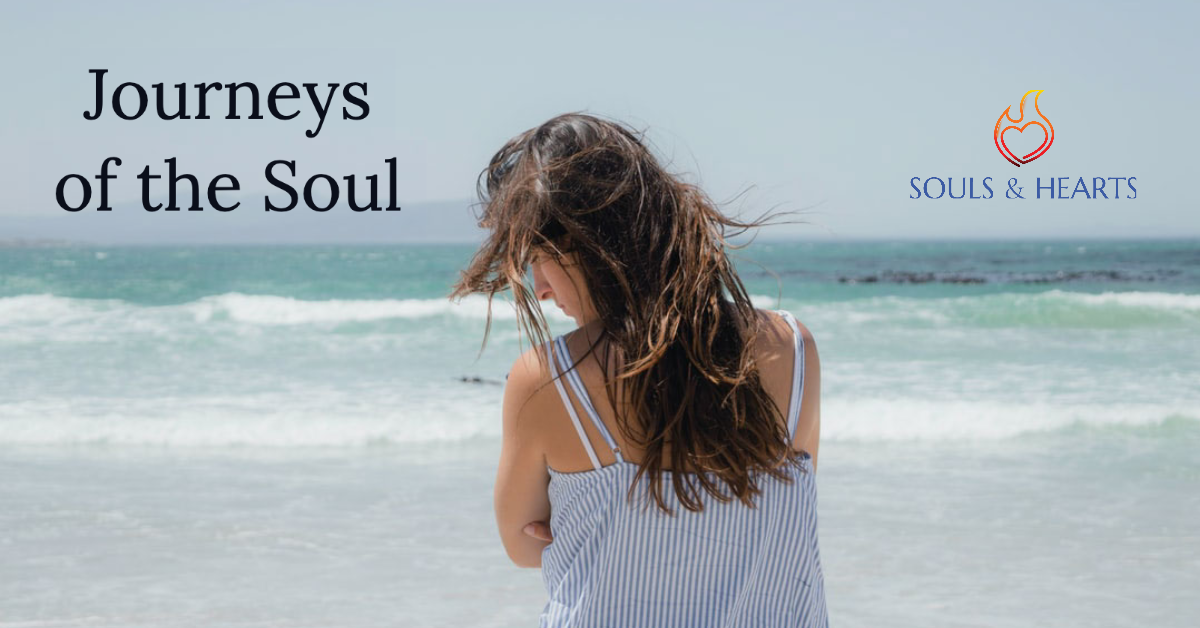 Journeys of the Heart logo, personal stories of Catholic therapists, mental health