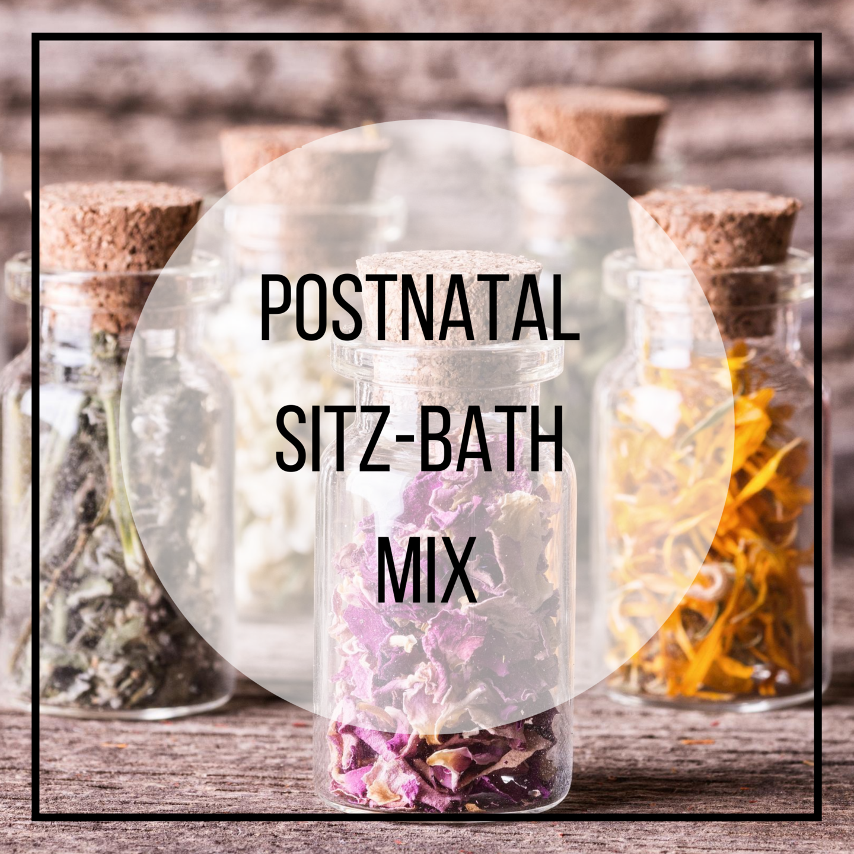 post natal healing herbs