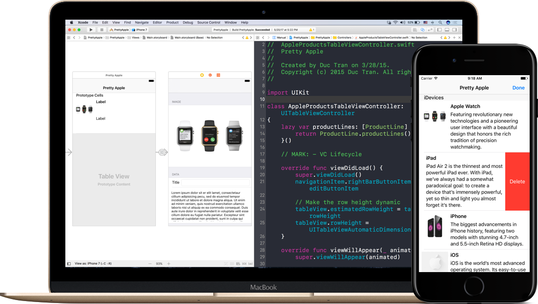 FREE Course: UITableView in iOS with Swift Tutorials