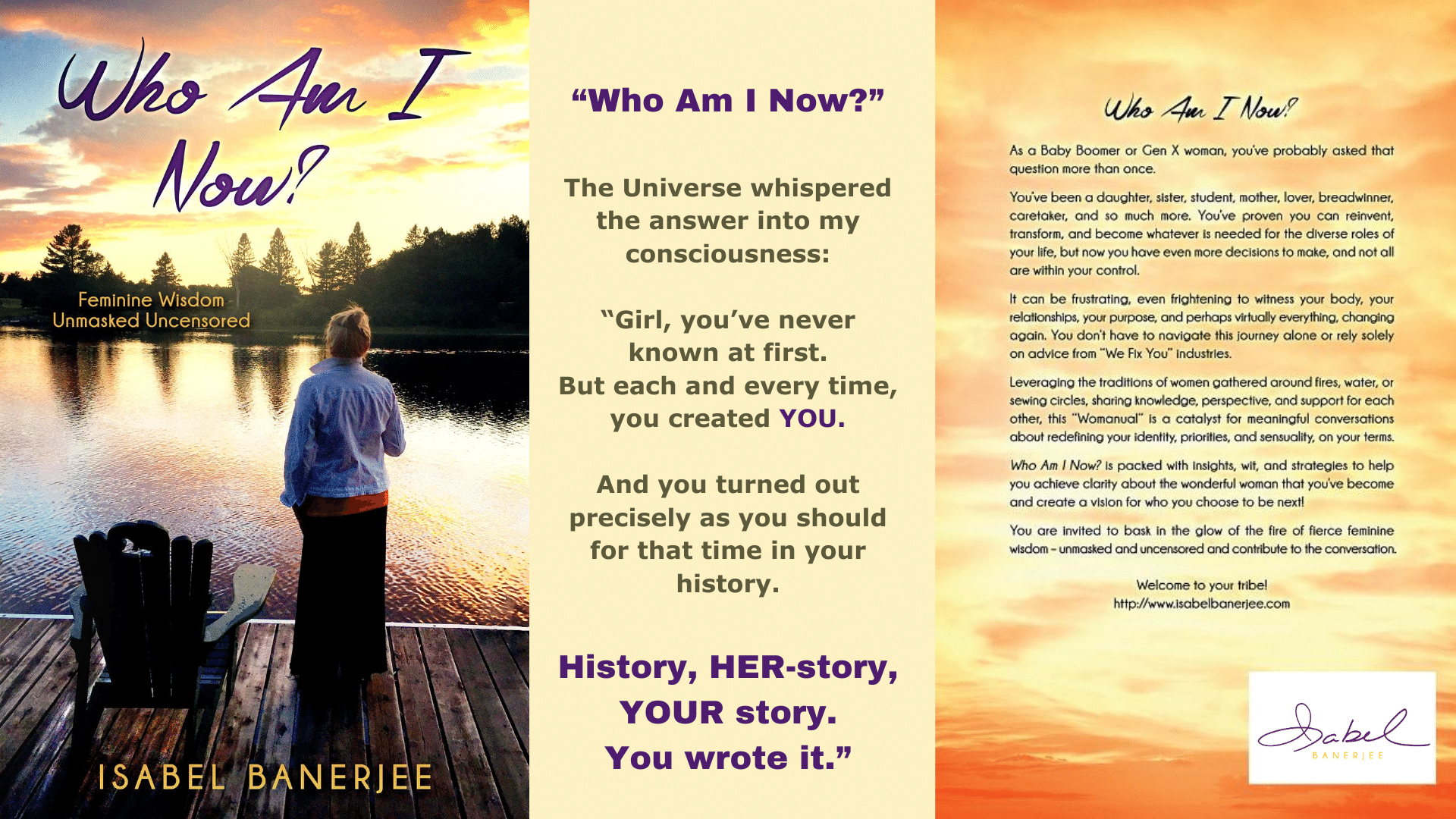Who Am I Now, Book Covers with Author Quote
