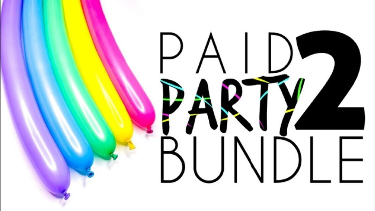 Get the Paid 2 Party Bundle for Balloon Artists