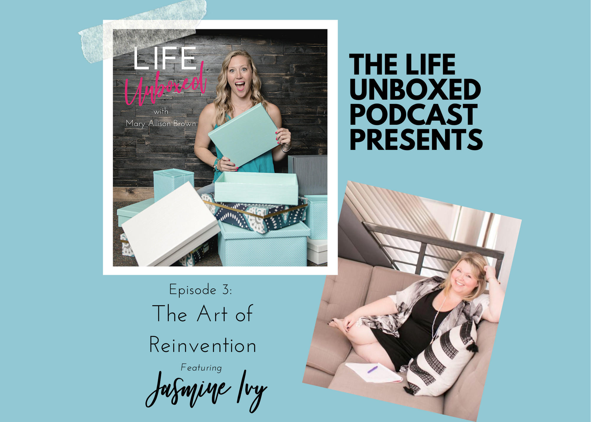 The Art of Reinvention with Jasmine Ivy