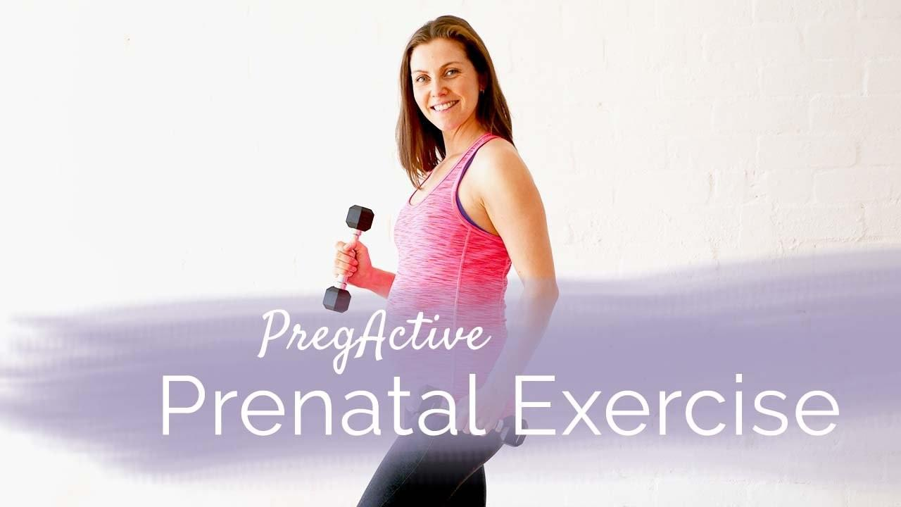 Pregnancy workouts and exercises