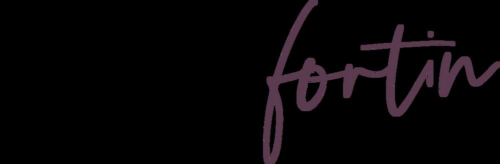 Logo Mélanie Fortin
