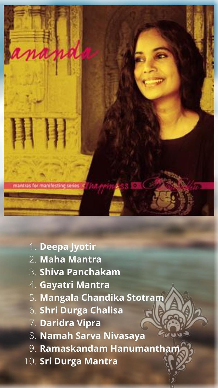 Chitra Chants CD