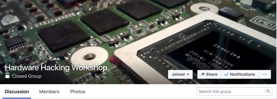 Hardware Hacking Workshop Online | Registration