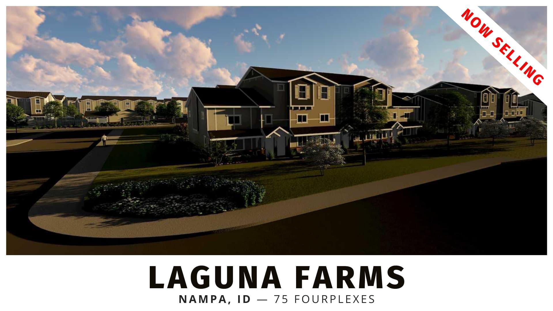 Laguna Farms Fourplexes for Sale in Nampa, Idaho