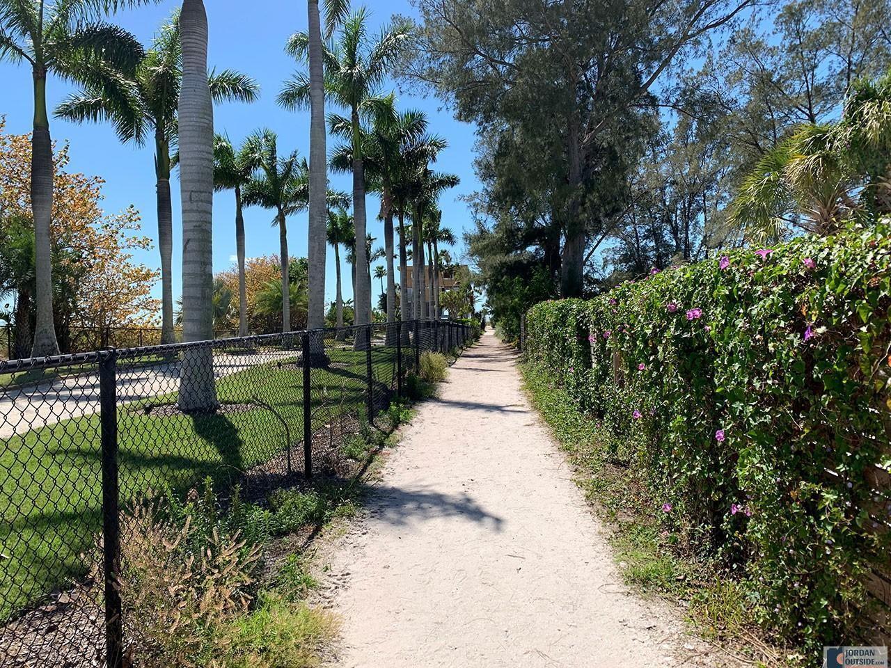 Trail to Bean Point Beach