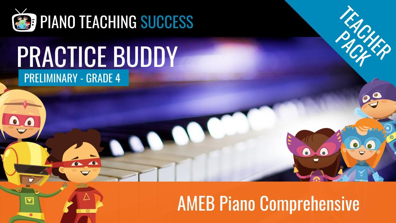 AMEB Piano Comprehensive Teacher Pass