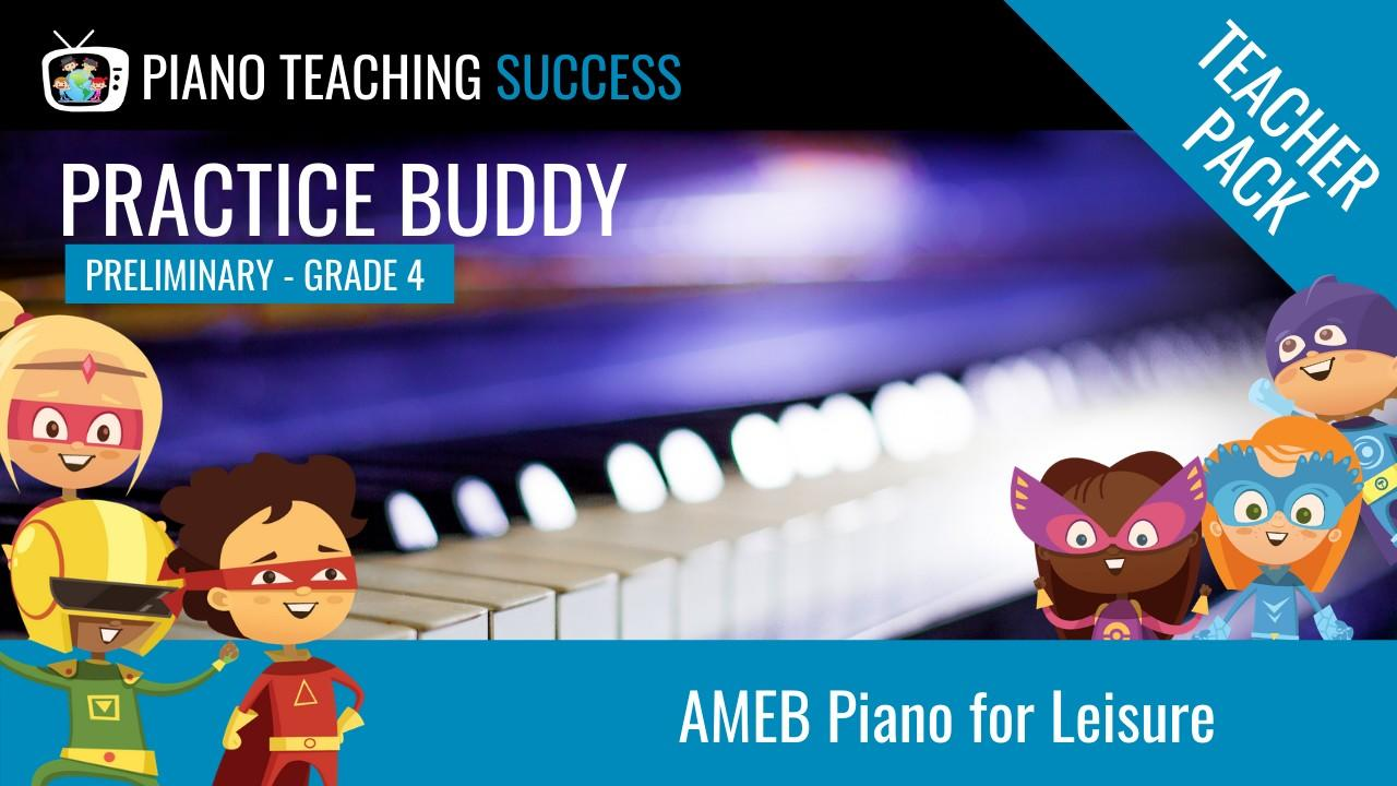 PRACTICE BUDDY AMEB Teacher Pack