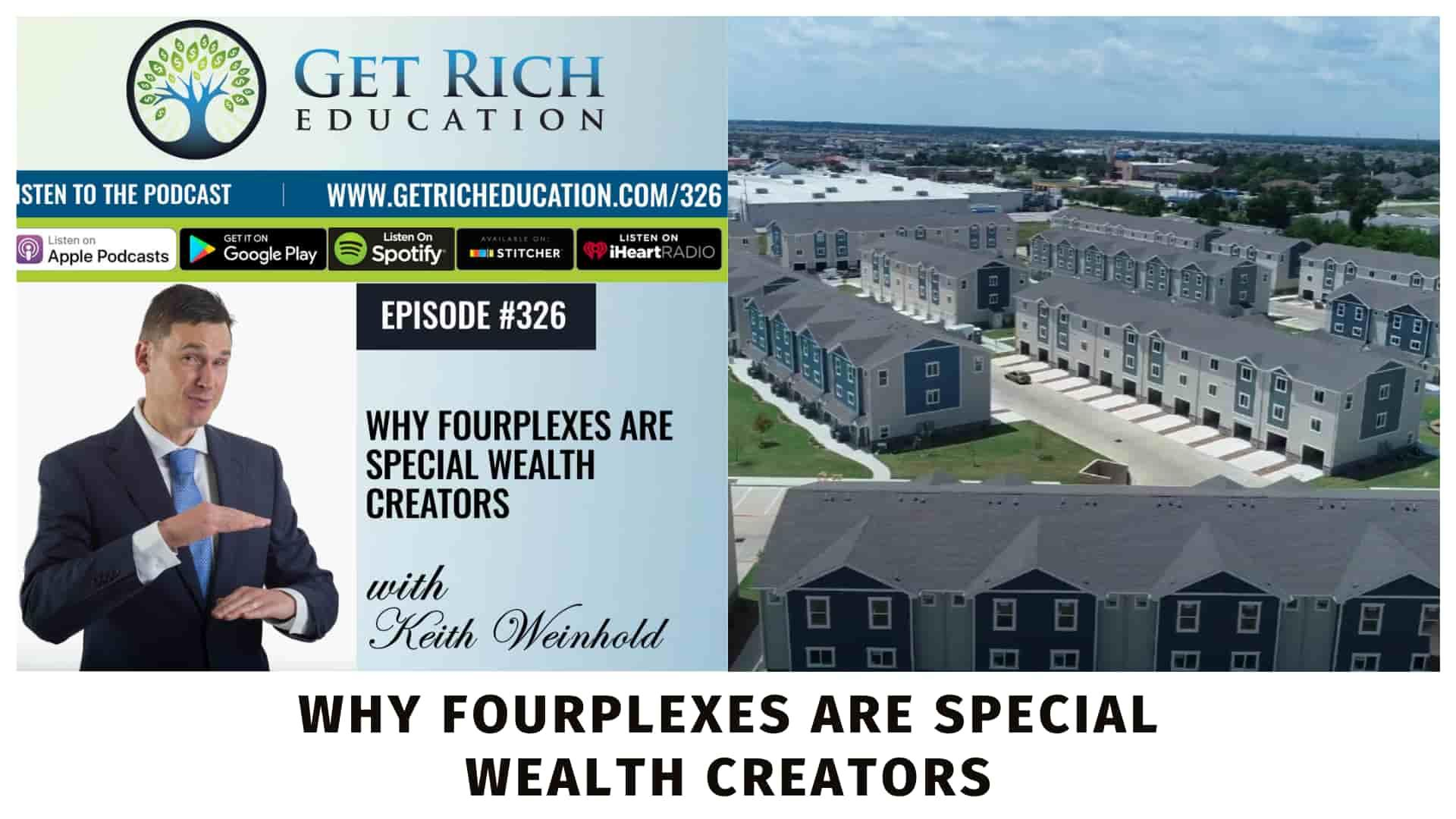 Episode on the Get Rich Education Podcast