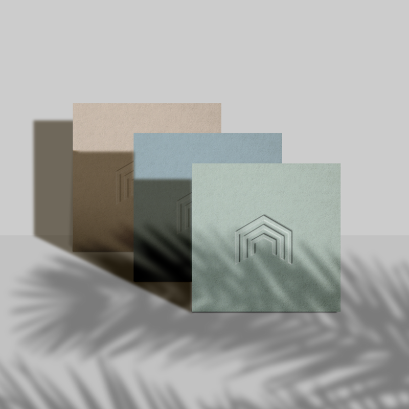 well design business cards vaastu design wellness logo