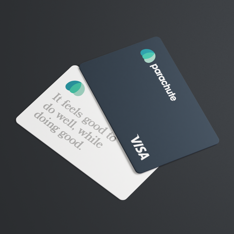 wellness branding agency parachute credit card health and wellness branding visual identity creative visual brand presence