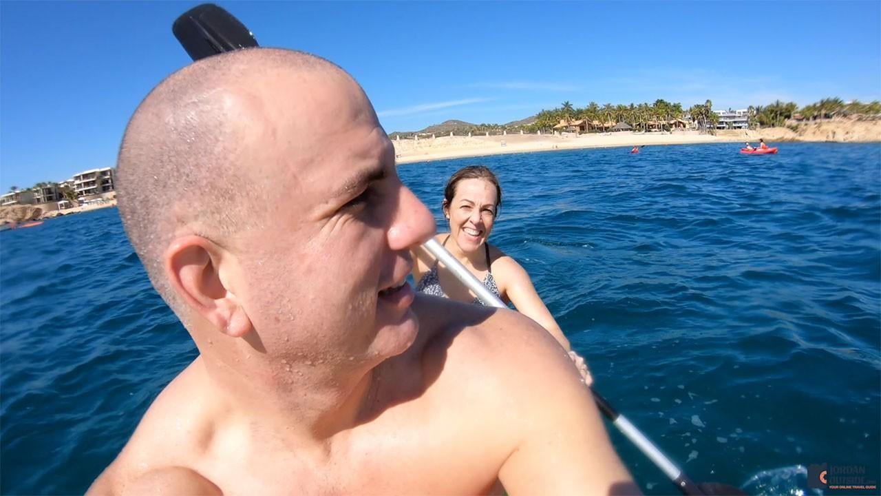 Jordan and Julie Kayaking