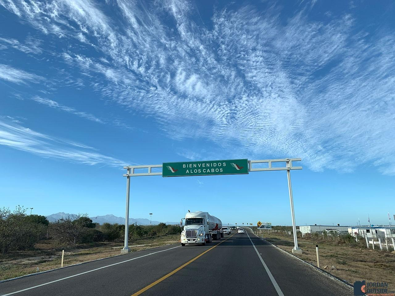 Welcome to Los Cabos Sign