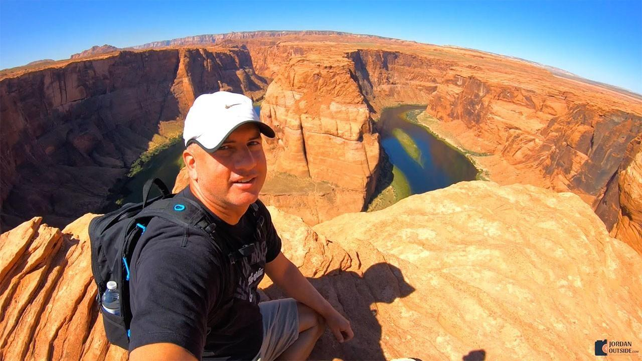 Jordan at Horseshoe Bend