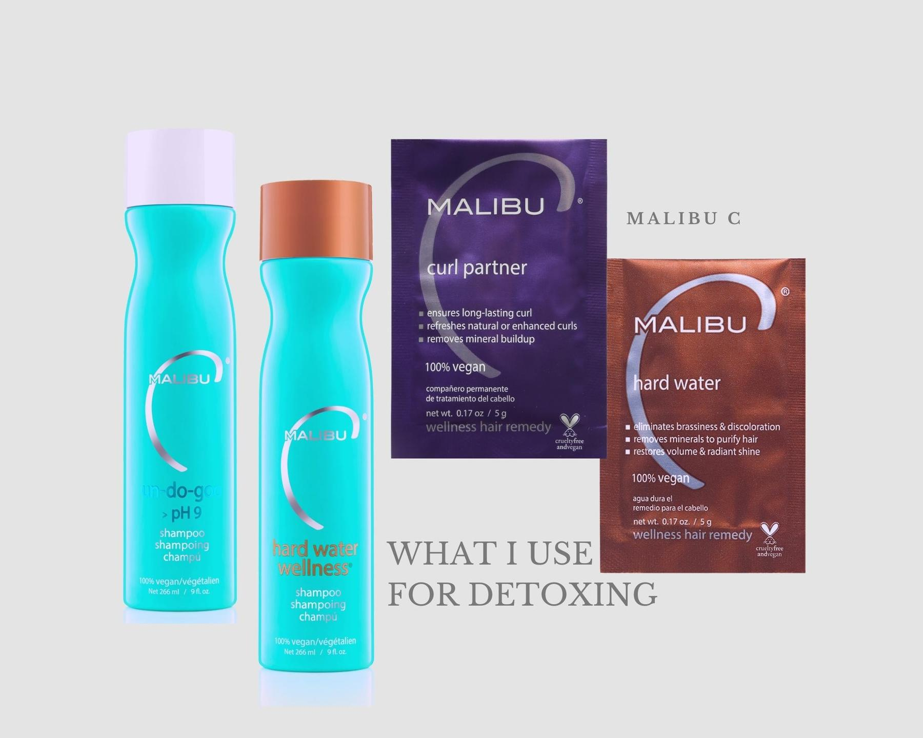 Malibu C detoxing products