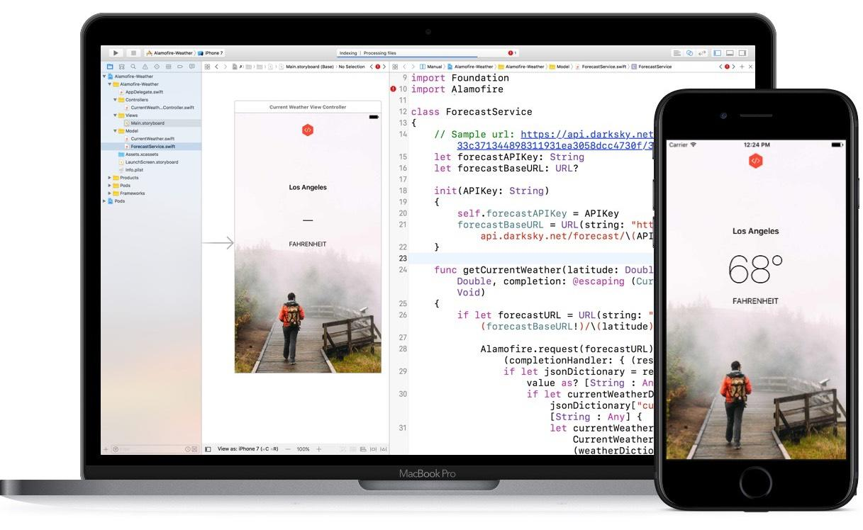 Create Weather App with REST API and JSON in iOS with Swift