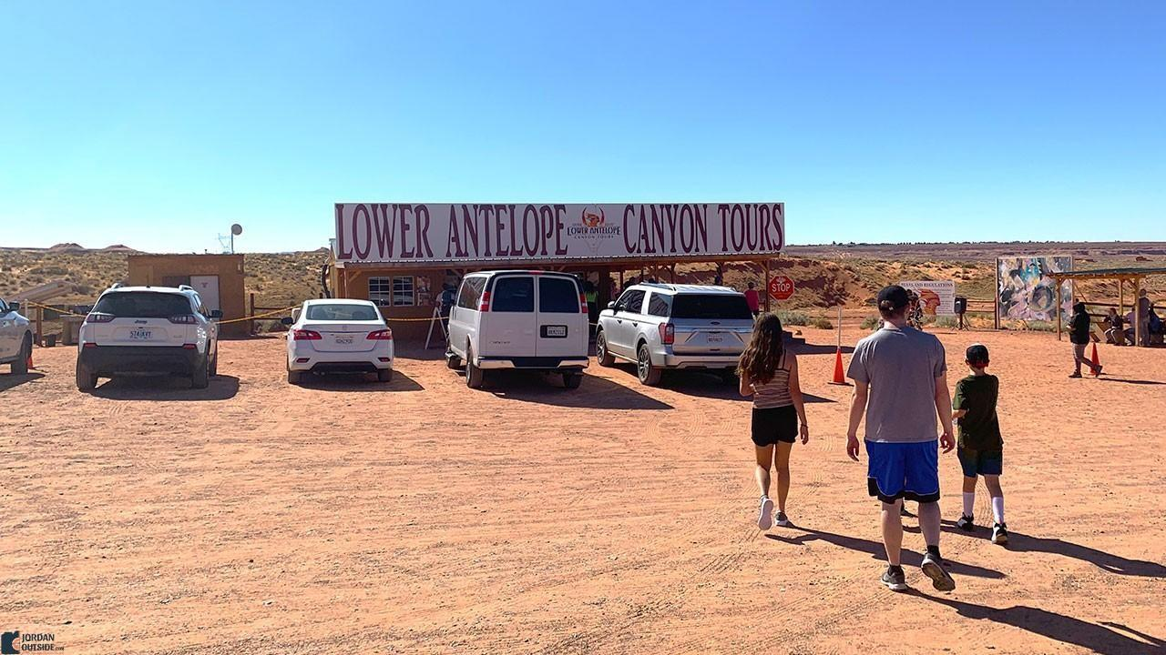 Lower Antelope Canyon Tours Building