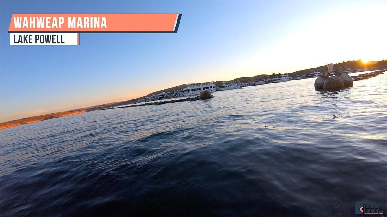 Wahweap Marina at Lake Powell