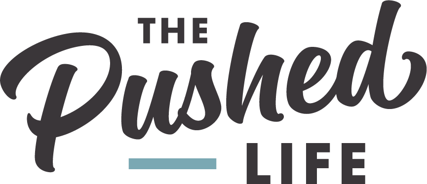 The Pushed Life Logo