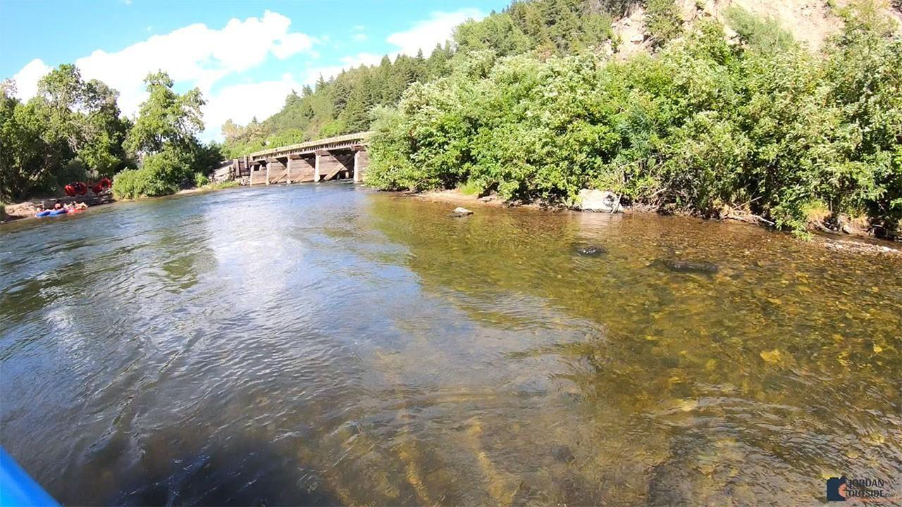 Bridge on the Provo River