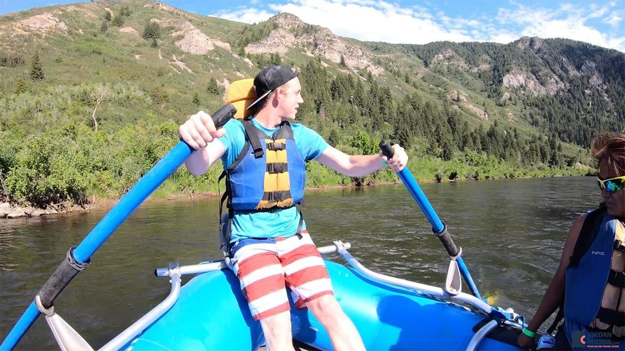 Jared River Rafting on the Provo River