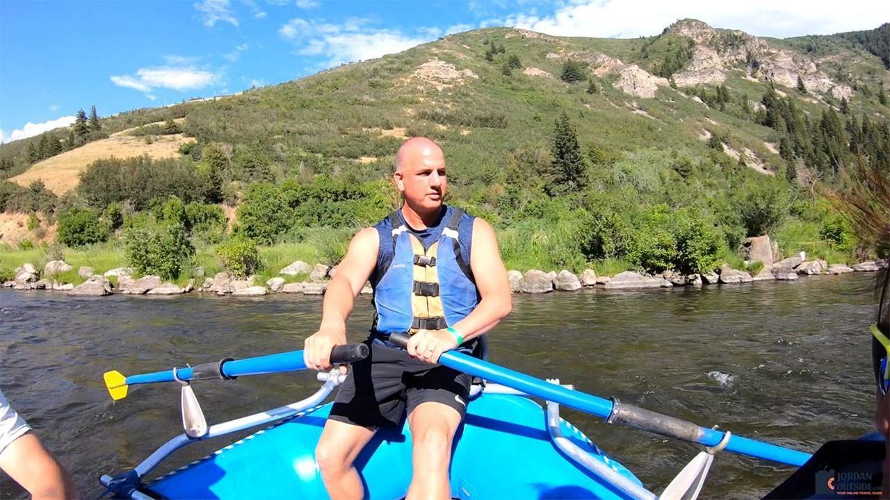 Jordan River Rafting on the Provo River