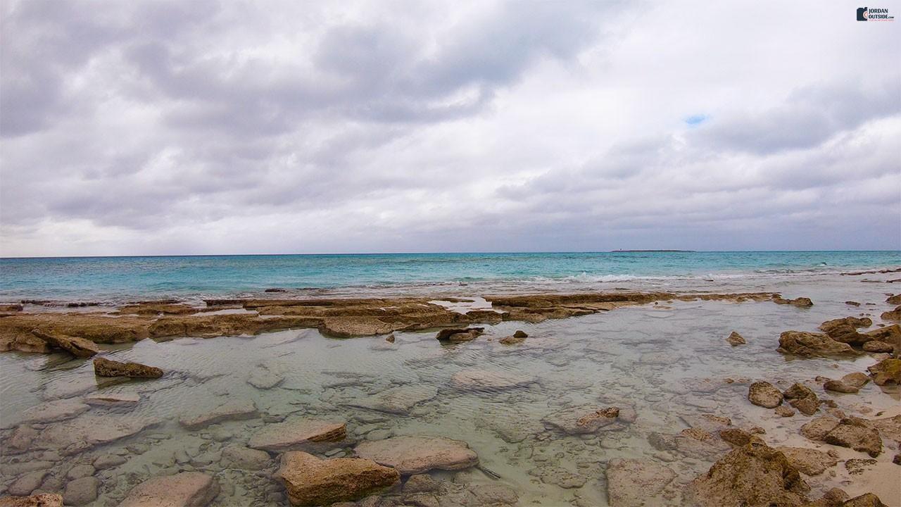 Flipper Beach in the Bahamas