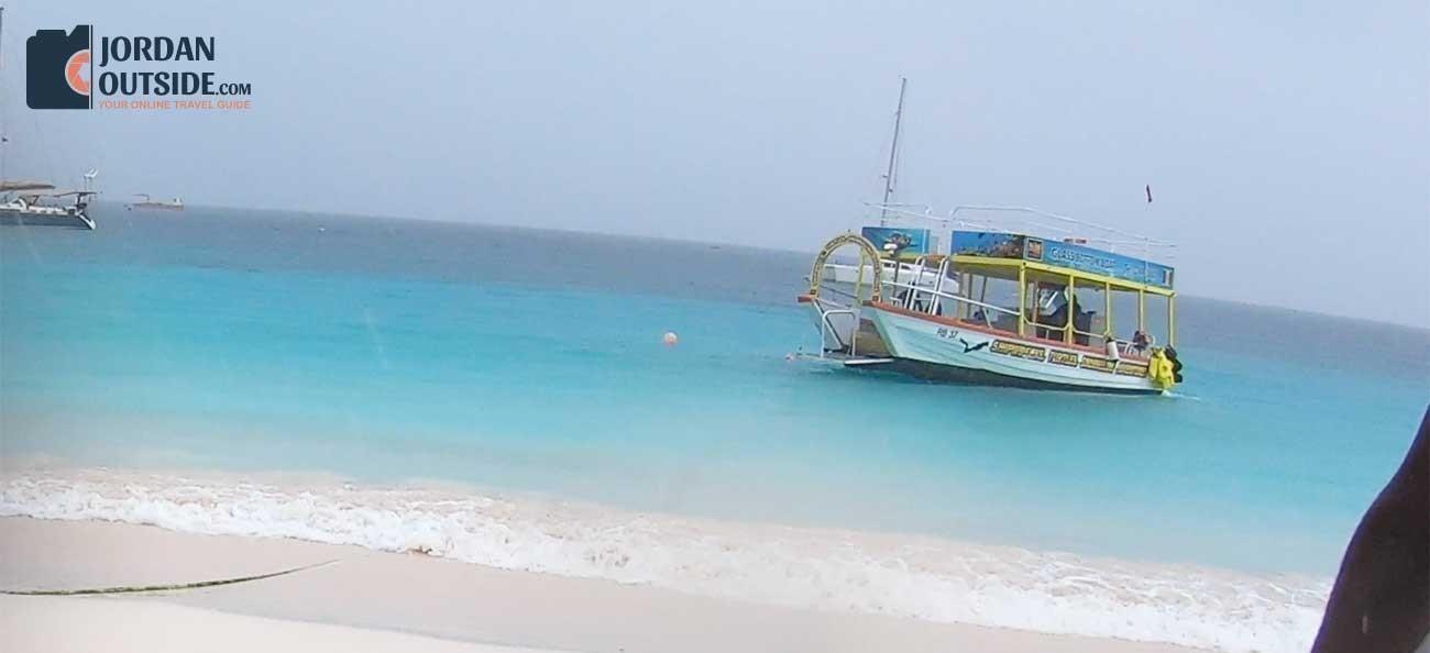 Excursion boat in Barbados