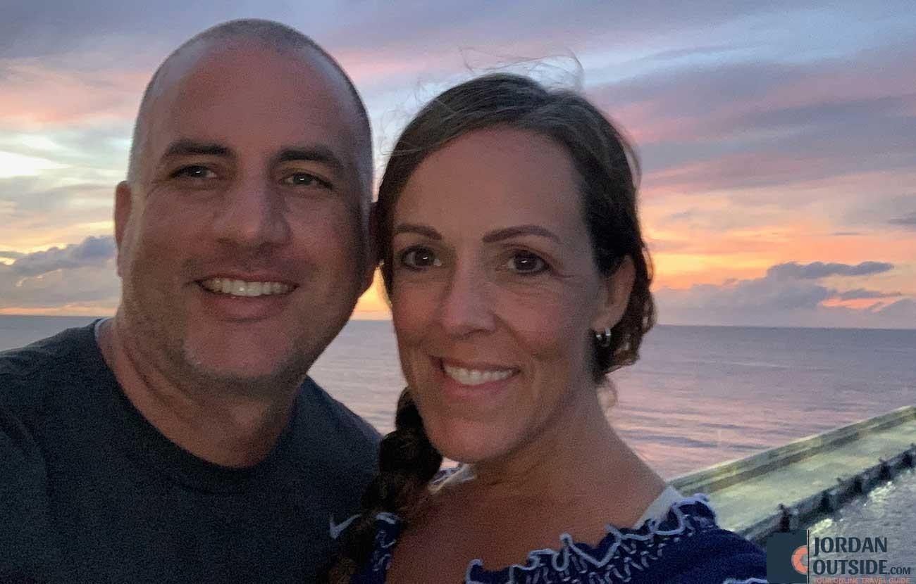 Jordan and Julie in Barbados